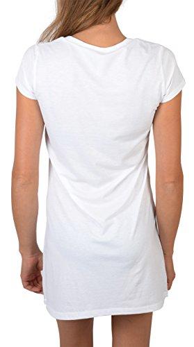 Nachtwäsche Schlafanzug Pyjama Nachthemd Nachthemd Trachten Zicke Bayerisches Motiv Bayern Tracht bequemes Sleepdress Sleepshirt Weiß
