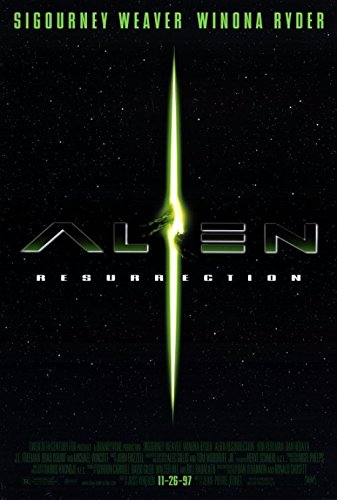 Alien: Resurrection Movie Poster (68,58 x 101,60 cm) (Alien Resurrection Movie Poster)