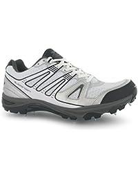 Slazenger - Zapatillas de críquet para niño multicolor blanco/negro Talla única