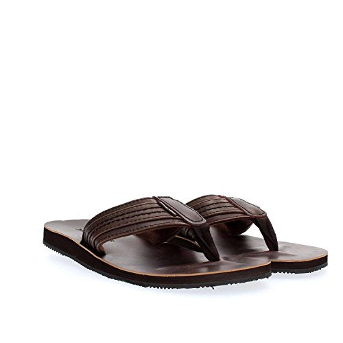 JACK & JONES Herren Jfwbob Leather Sandal Java Zehentrenner Braun (Java)