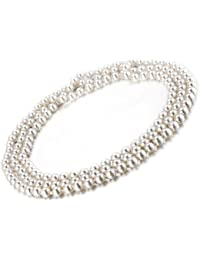 Collar de perlas largas, longitud de 1,5 m, perlas artificiales 7.5-8mm VIKI LYNN