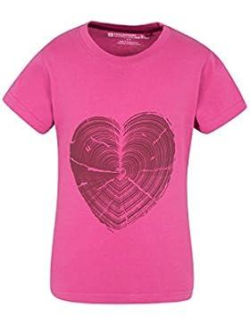 Mountain Warehouse Wooden Heart Kinder-T-Shirt