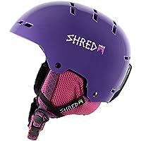 Shred Bumper Pinot Casco de esquí, snowboard, Otoño-invierno, unisex, color morado, tamaño medium