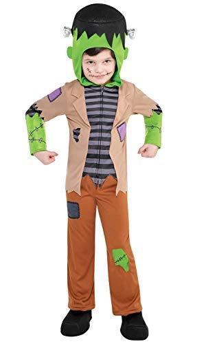 Fancy Me Jungen Monster Junge Frankenstein Tv Film Halloween Kostüm Kleid Outfit 3-6 Jahre - 3-4 Years