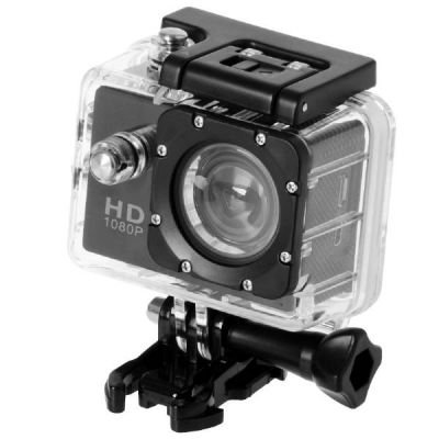 QUMOX Actioncam SJ4000, Action Sport Kamera Camera Waterproof, Full HD, 1080p Video, Helmkamera, Schwarz