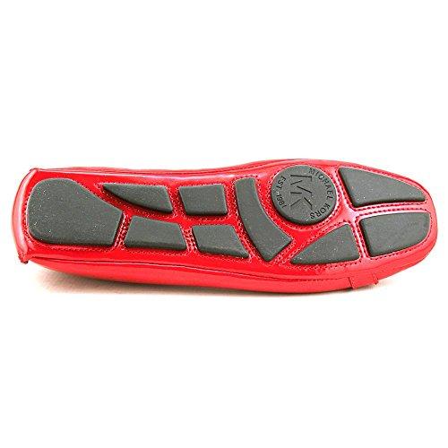 Michael Michael Kors Fulton Moc Cuir Chaussure Plate Chili