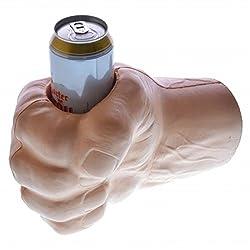 Riesige Faust Getränkekühler - Riesenfaust Getränkehalter Riesenhand Flaschenkühler Bier Dosenkühler