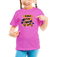 Billion Group | California Venice Beach | City Collection | Girls Classic Crew Neck T-Shirt