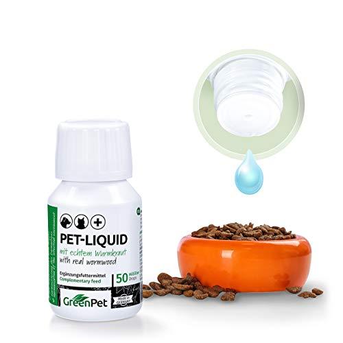 41f9CX7ZeOL - GreenPet Pet Liquid Desparasitación Anti Gusanos. Apto para perros, gatos y aves.