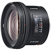 Sony Sal-20F2820mm f/2.8Objectif grand angle pour Sony Alpha Digital SLR Camera