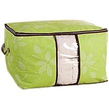 Amazon Fr Housse Rangement Couette Vert