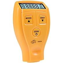 Ultrasónico Digital Automotive Coating medidor de espesor de pintura hierro herramienta Rango de medición de 0~ 1.80mm/0A Mil 71,0Tgm-200