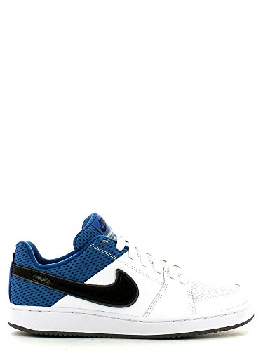 Nike - Nike Backboard 2 (GS) Scarpe Bianche Pelle Tela 488300 Bianco