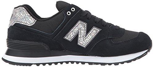 Nuovo Equilibrio Damen 574 Sneaker Schwarz (nero)