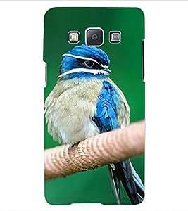 ColourCraft Cute Bird Design Back Case Cover for SAMSUNG GALAXY E5