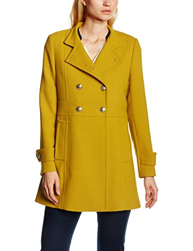 Tommy Hilfiger Nichelle Coat, Giubbotto Donna, Gelb (Dark Sundown Yellow 744), 50