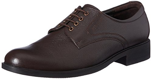 Red Chief Men's Brown Leather Formal Shoes