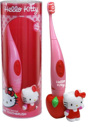 Higiene Dental y Tiritas SD0051 - Cepillo de dientes eléctrico Hello Kitty