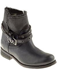691535afa Felmini Zapatos Para Mujer - Enamorarse com Beja B135 - Botas Cowboy    Biker - Cuero