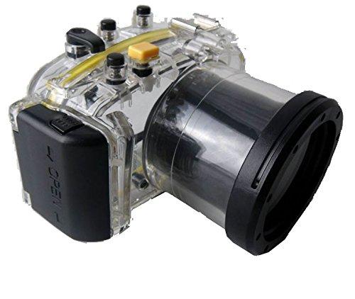 Polaroid SLR tauchfähiges, wasserdichtes Unterwasser-Gehäuse für die Panasonic GF6 Kamera mit a 14-42mm Objektiv
