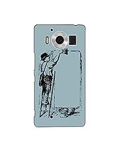 Microsoft Lumia 950 nkt-04 (21) Mobile Case by oker