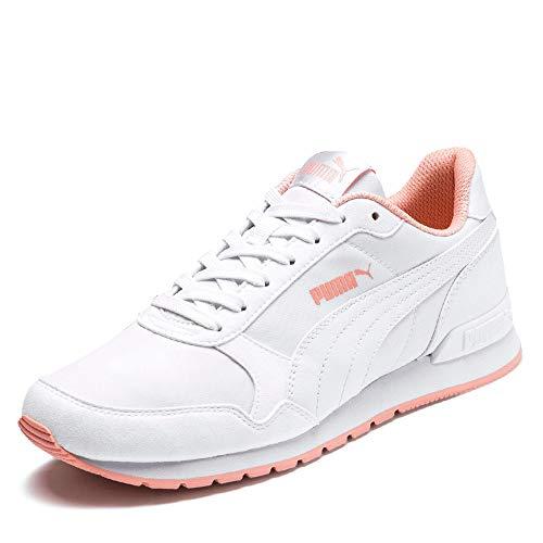 Puma Unisex-Erwachsene St Runner V2 Nl Fitnessschuhe, Weiß (Puma White-Peach Bud 17), 38.5 EU