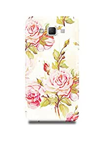 Samsung A8 Cover,Samsung A8 Case,Samsung A8 Back Cover,Vintage Floral Pattern Samsung A8 Mobile Cover By The Shopmetro-18159