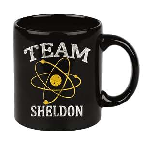 Big Bang Theory Mug TEAM SHELDON Tasse de Café Noir