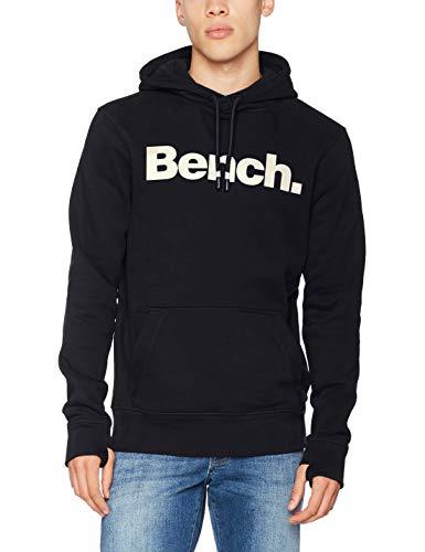 Bench Herren CORE. Sweat Corp Hoodie Kapuzenpullover, Schwarz (Black Beauty Bk11179), Large -