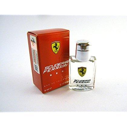 SCUDERIA FERRARI RED for Men by Ferrari EDT Splash Miniature 0.13 oz (New in Box) by Ferrari
