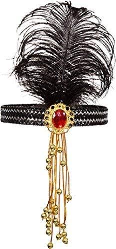 Damen 1920s Jahre 20s Flapper Haarband Charleston Blinders Tv Buch Film Kostüm Verkleidung Zubehör Kopfbedeckung