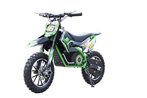 SABWAY Moto Electrica para Niños 36V - Motocicleta Todoterreno 500W Brushless con...