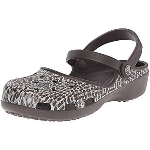 Crocs Karin Leopard Clog W Mary jane,