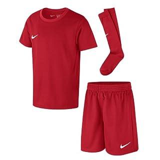 Nike AH5487-657 Ensemble de Football Mixte Enfant, University Red/(White), FR : L (Taille Fabricant : L)