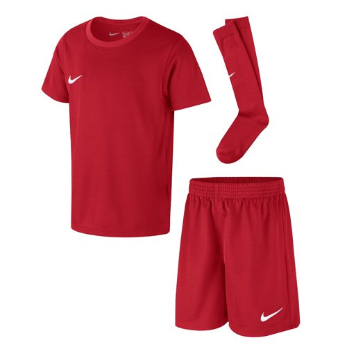 Nike Kinder Park Kit Trikotset, Rot (University Red/White), XL (122-128)