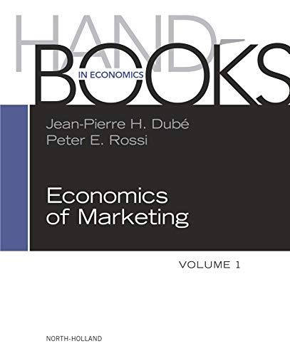 Handbook of the Economics of Marketing (Handbooks in Economics) (English Edition)