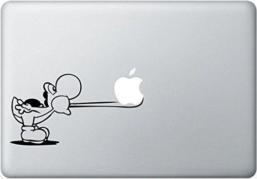 Apple MacBook Air Pro Yoshi nintendo Aufkleber Sticker Skin Decal