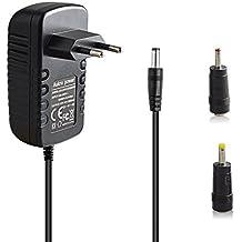 Aukru® 12V 2A 24W Adaptador fuente de alimentación Cargador Power universal para LED Strip,ordenador portátil, impresora, escáner, router, fax, TFT, LCD y muchos dispositivos (5.5 mm x 2.5 mm)