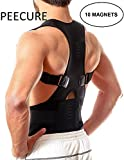 PEECURE Magnetic Posture Corrector for Lower and Upper Back Pain (Medium)