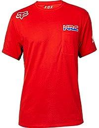 Fox Racing Camiseta para Hombre Honda HRC Airline (Rojo) 1b3efe74ccd
