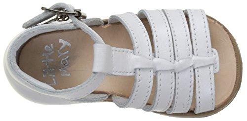 Little Mary Baby Jungen Hosmose Sandalen Weiß (Blanc Perlado Blanc)