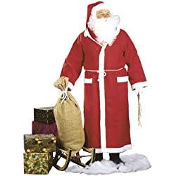 Hilmar Krautwurst K115 - Disfraz de Papá Noel para hombre