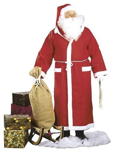 Cesar K115-001 Costume Déguisement Manteau Père Noël 54/56 Taille EU