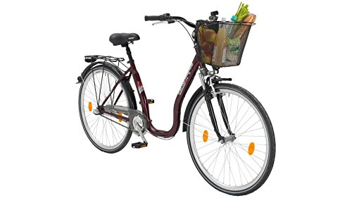 PERFORMANCE Citybike Tiefeinsteiger Sylt , 26/28 Zoll, 3 Gang, Rücktrittbremse 66,04 cm (26 Zoll)