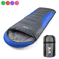 Adult Sleeping Bag 3 Season Single Person Warm Hood Carry Bag Trail Alpine 250 24