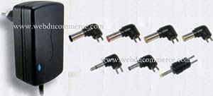 Alimentation chargeur 24V 1A 24W avec 7 connecteurs