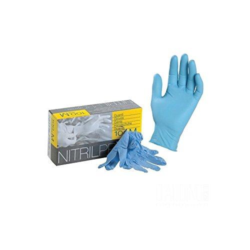 icoguanti Nitril Pro 100 gants jetables en Nitrile Latex free XL