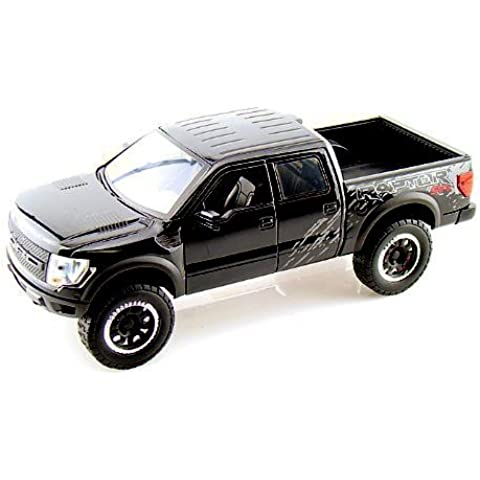 2011 Ford F-150 SVT Raptor 1:24 Scale (Glossy Black) by Jada