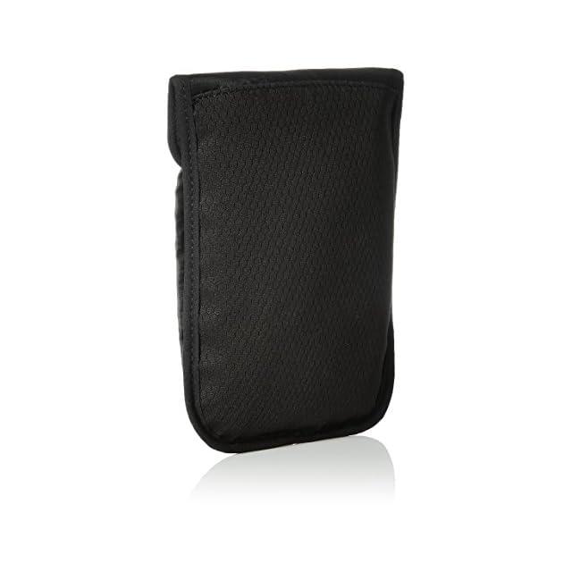 AmazonBasics Pochette de Voyage Tour de Cou avec Protection contre Signaux RFID, Noir