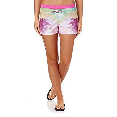 Damen Boardshorts Animal Bonito Boardshorts lily pink